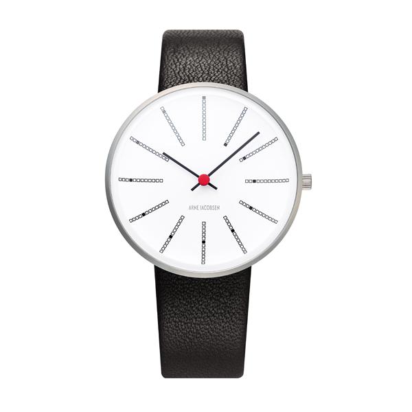 デンマークのデザイナー製 《復刻版》 [スマホエントリーでポイント最大14倍] 4367 置時計 (アルネ・ヤコブセン) アラーム付きテーブルクロック 送料無料 Arne Jacobsen 北欧