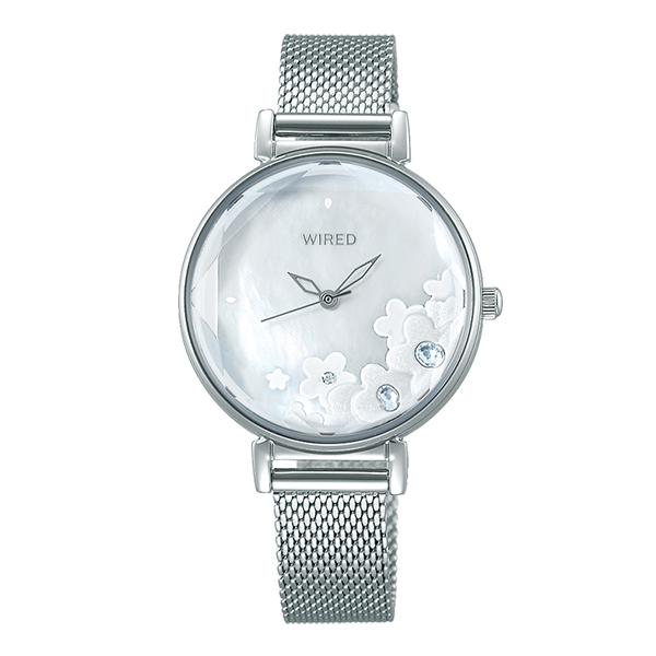 WIRED f ワイアード エフ SEIKO セイコー TOKYO GIRL MIX 腕時計 レディース  AGEK449