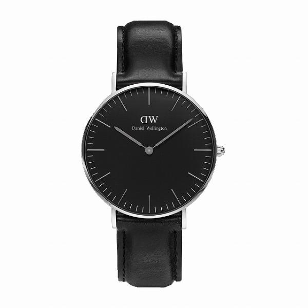 Daniel Wellington ダニエルウェリントン CLASSIC BLACK Sheffield 36mm 【国内正規品】 腕時計 DW00100145 【送料無料】