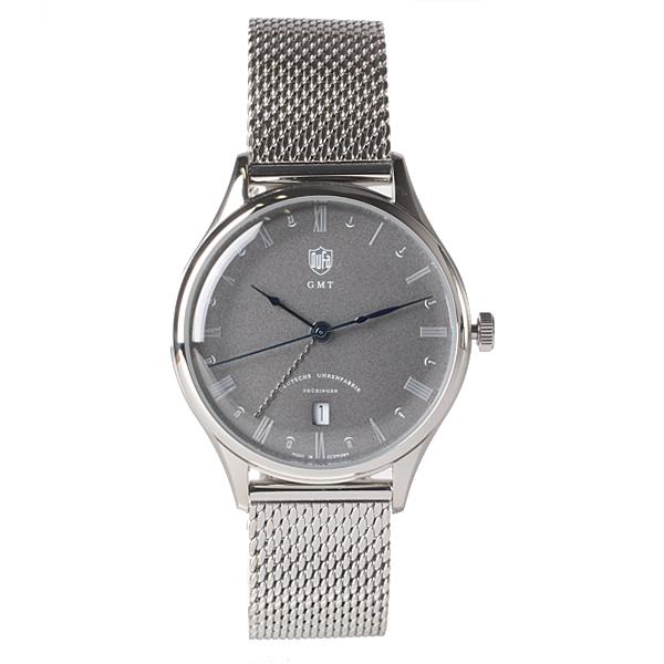 DUFA ドゥッファ Weimar GMT ドイツ製 腕時計 DF-9006-11