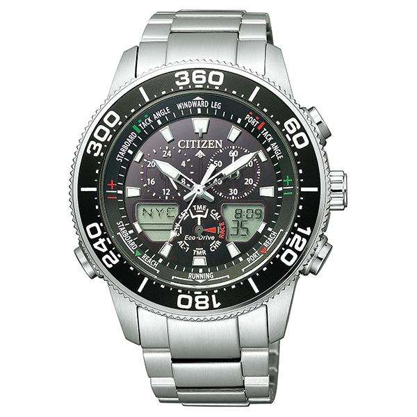 シチズン プロマスター マリン CITIZEN PROMASTER エコドライブ ヨットタイマー MARINE 腕時計 メンズ JR4060-88E