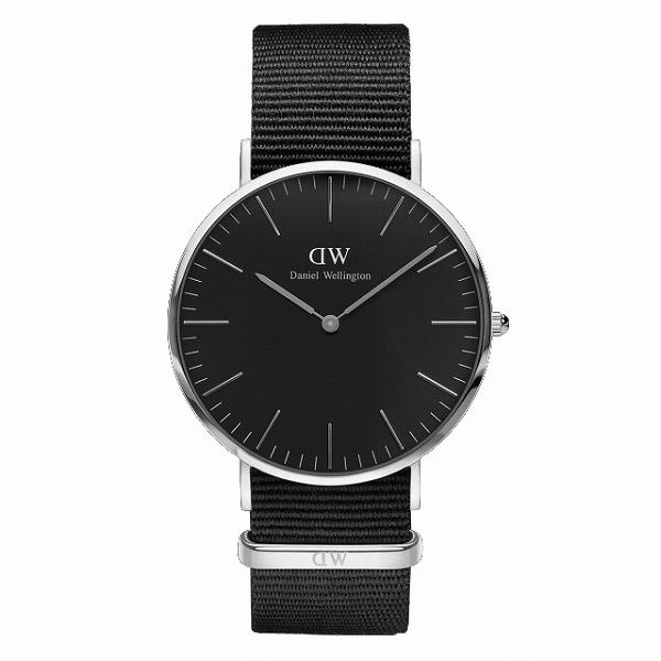 Daniel Wellington ダニエルウェリントン CLASSIC BLACK Cornwall 40mm 【国内正規品】 腕時計 DW00100149 【送料無料】