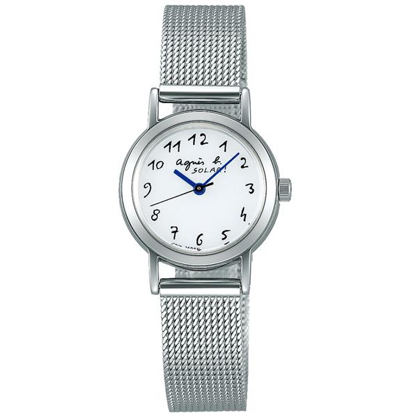 agnes b. アニエスベー Marcello マルチェロ メッシュ ソーラー 国内正規品 腕時計 レディース FBSD944 【送料無料】