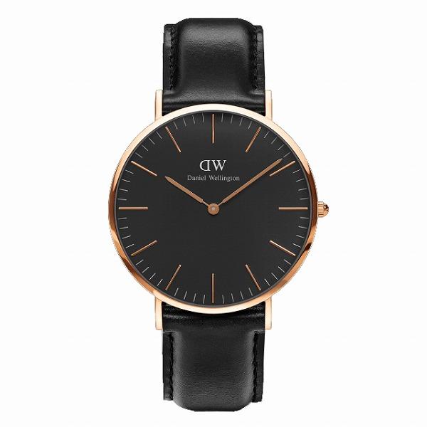 Daniel Wellington ダニエルウェリントン CLASSIC BLACK Sheffield 40mm 【国内正規品】 腕時計 DW00100127 【送料無料】