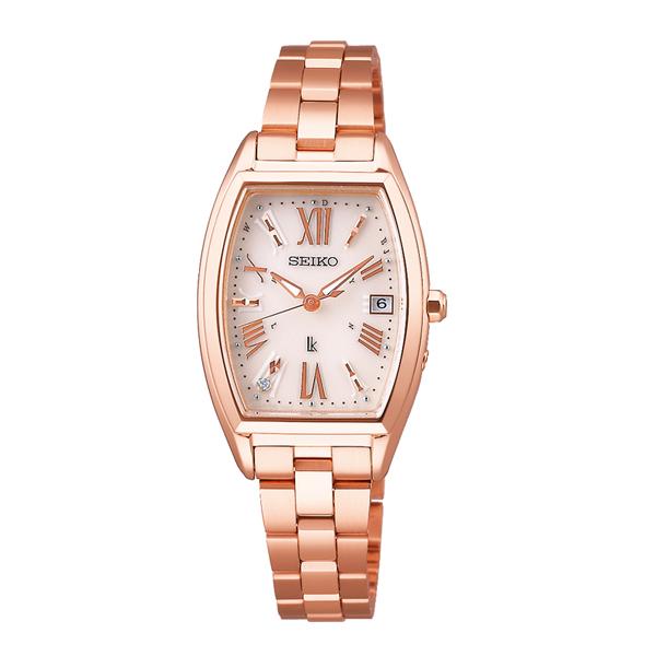 LUKIA ルキア SEIKO セイコー 電波ソーラー Lady Diamond レディダイヤ トノー 【国内正規品】 腕時計 レディース SSVW118 【送料無料】
