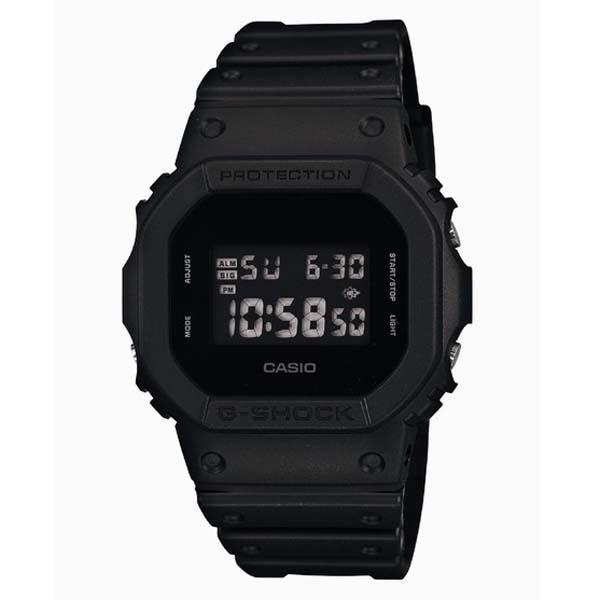 G-SHOCK ジーショック CASIO カシオ Solid Colors ソリッドカラーズ 【国内正規品】 腕時計 ブラック DW-5600BB-1JF 【送料無料】