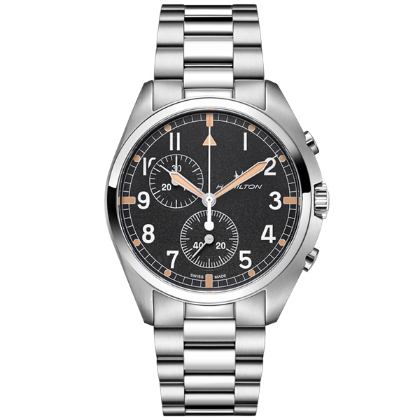 HAMILTON ハミルトン Khaki カーキ アビエーション PILOT PIONEER CHRONO QUARTZ クロノ クォーツ 腕時計 メンズ H76522131