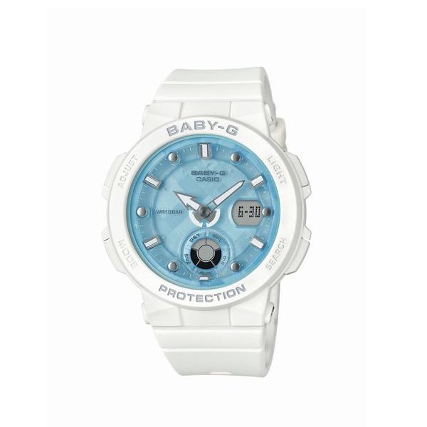 BABY-G ベイビージー CASIO カシオ Beach Traveler Series ビーチ トラベラー シリーズ 国内正規品 腕時計 レディース BGA-250-7A1JF 【送料無料】