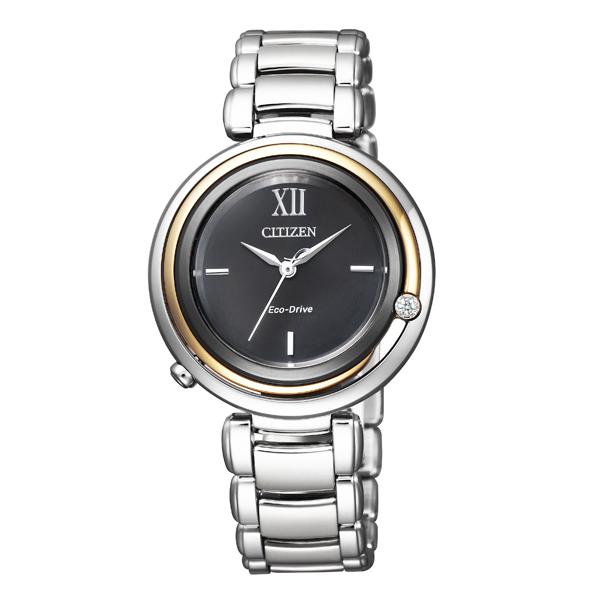 CITIZEN L シチズン エル エコ・ドライブ アークリーシリーズ 腕時計 EM0658-95E 【送料無料】