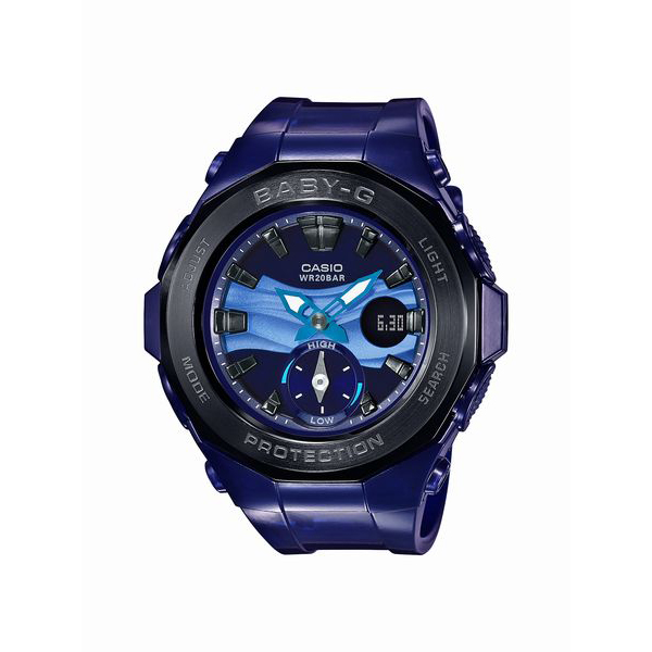 BABY-G ベイビージー CASIO カシオ G-LIDE Beach Glamping Series 【国内正規品】 腕時計 レディース BGA-220B-2AJF 【送料無料】