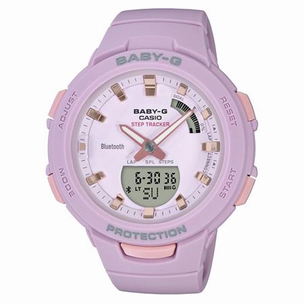 BABY-G ベイビージー CASIO カシオ G-SQUAD ジー・スクワッド 腕時計 BSA-B100-4A2JF 【送料無料】
