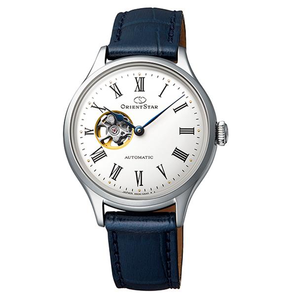 オリエントスター ORIENT STAR 腕時計 レディス 機械式自動巻 CLASSIC セミスケルトン RK-ND0005S