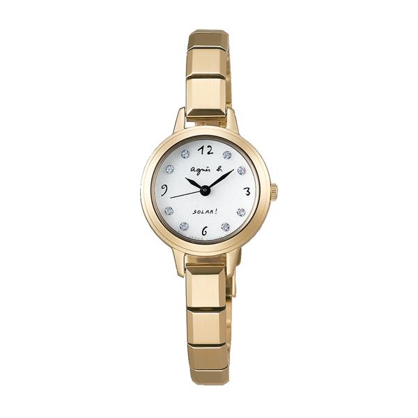 agnes b. アニエスベー マルチェロ ソーラーファム 【国内正規品】 腕時計 レディース FBSD949 【送料無料】