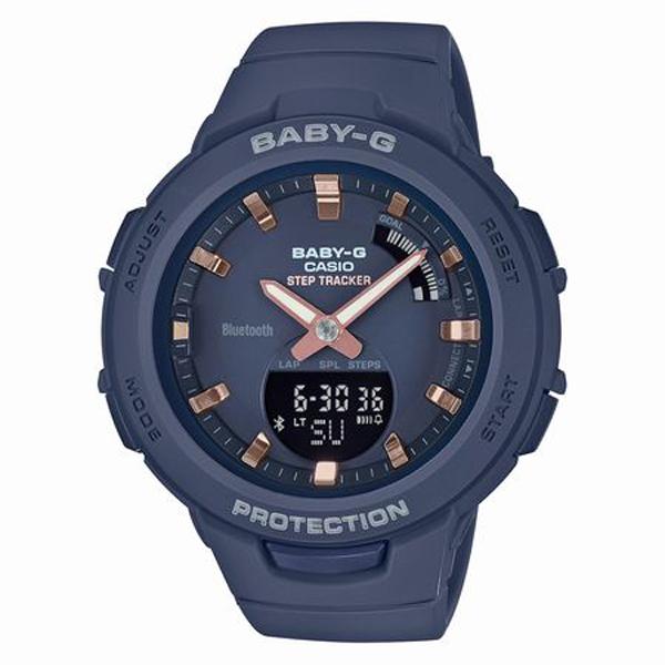 BABY-G ベイビージー CASIO カシオ G-SQUAD ジー・スクワッド 腕時計 BSA-B100-2AJF 【送料無料】