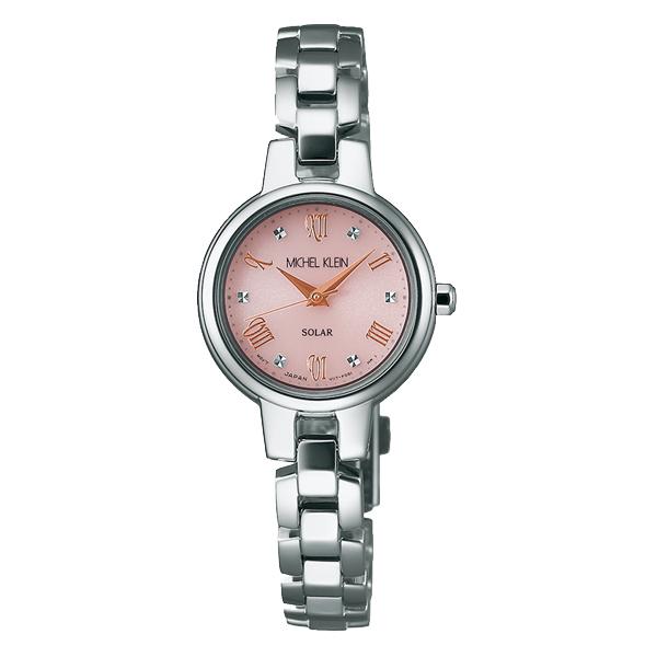 MICHEL KLEIN ミッシェルクラン スタイリッシュソーラー 腕時計 レディース AVCD026 【送料無料】
