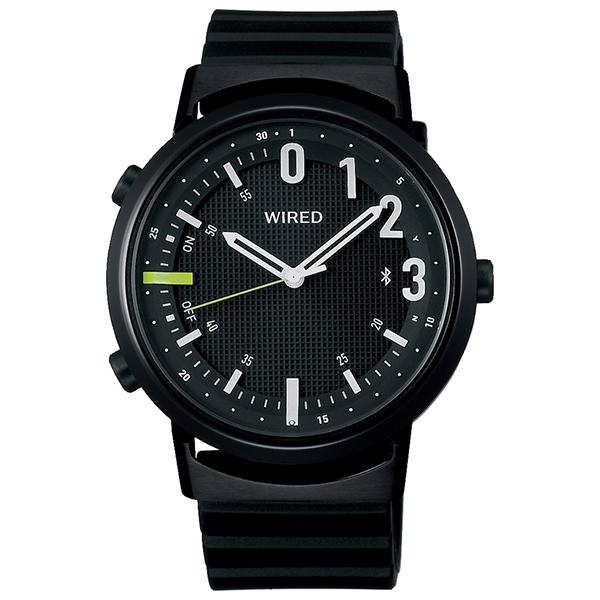 セイコーワイアード SEIKO WIRED WWツーダブ Bluetooth 腕時計 メンズ タイムコネクト  TYPE 02 AGAB406