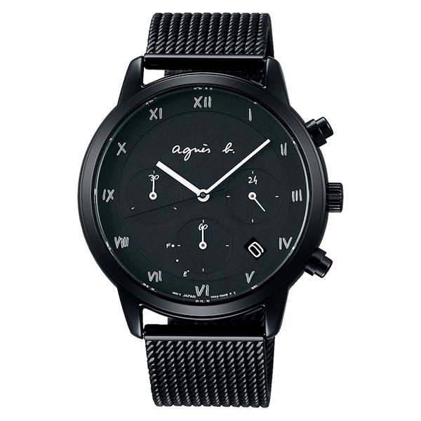 agnesb. アニエスベー Marcello マルチェロ FBRD939 ソーラー 腕時計 メンズ