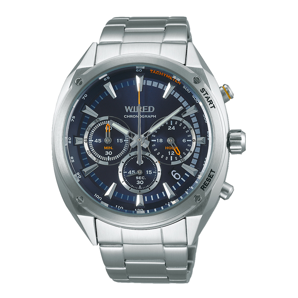 WIRED ワイアード SEIKO セイコー SOLIDITY クロノ 【国内正規品】 腕時計 メンズ AGAW445 【送料無料】