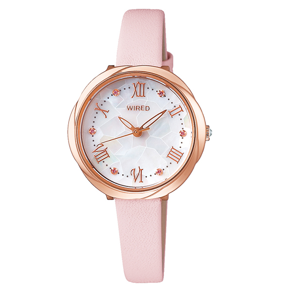 WIRED f ワイアードエフ SEIKO セイコー TOKYO GIRL MIX AGEK462 腕時計 レディース