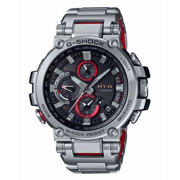 G-SHOCK ジーショック CASIO カシオ MT-G 電波ソーラー スマートフォンリンク 腕時計 MTG-B1000D-1AJF 【送料無料】
