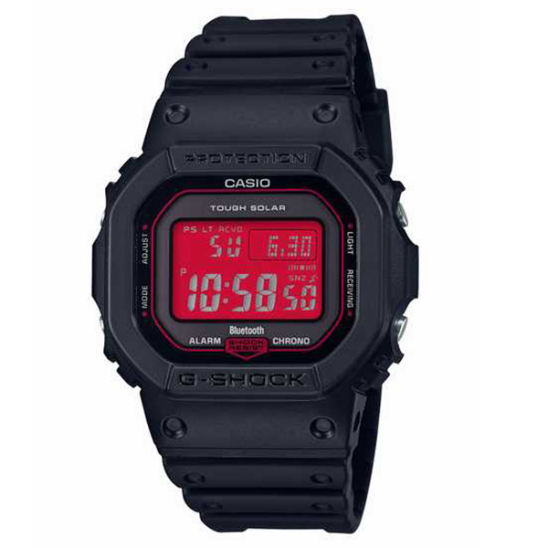G-SHOCK カシオ Gショック SPECIAL COLOR Black and Red Series 腕時計 メンズ GW-B5600AR-1JF