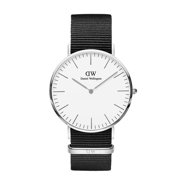 Daniel Wellington ダニエルウェリントン CLASSIC PETITE CORNWALL シルバー 40mm 【国内正規品】 腕時計 DW00100258 【送料無料】