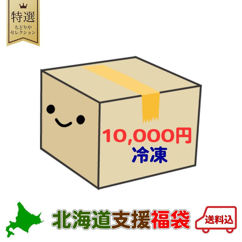 北海道 支援福袋 送料無料 福袋 銘菓 食品 復興 いくら ケーキ ジンギスカン 2020 割引 魚 支援 ふっこう ホワイトデー 《10000円ポッキリ》《冷凍》 応援 肉 [正規販売店] 豚丼 バレンタイン