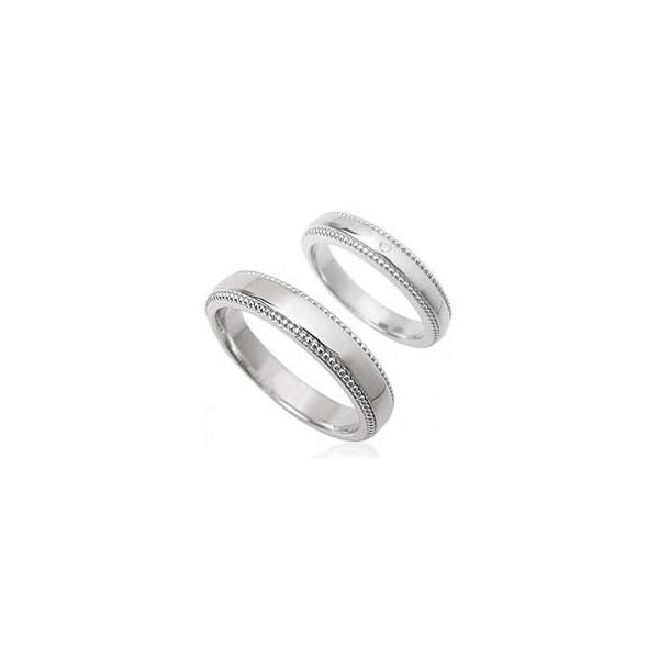 【送料無料】天然ダイヤモンド/シンプルラインペアリング指輪【ロジウム】[プレゼント/メンズ/バースデー/入学/卒業/クリスマス/母の日/バレンタインデー/ホワイトデー/結婚/婚約/シルバー/ホワイト]【レディース/お買い得/バーゲン/セール/激安/特価/SALE】P12Sep14