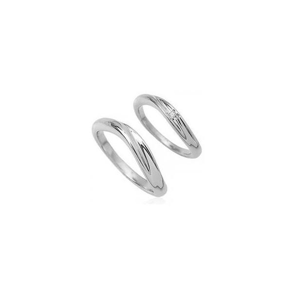 【送料無料】ウェーブライン天然ダイヤモンドペアリング指輪/シルバーSV925ロジウム ピンクゴールド ブラックコーティング/レディースメンズ[クリスマス/結婚記念日/婚約]【お買い得/バーゲン/セール/激安/特価/SALE】05P30May15