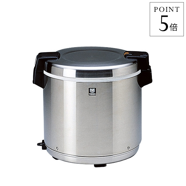 タイガー 業務用電子ジャー「炊きたて」5升[保温専用]JHC-900ASTN ステンレス