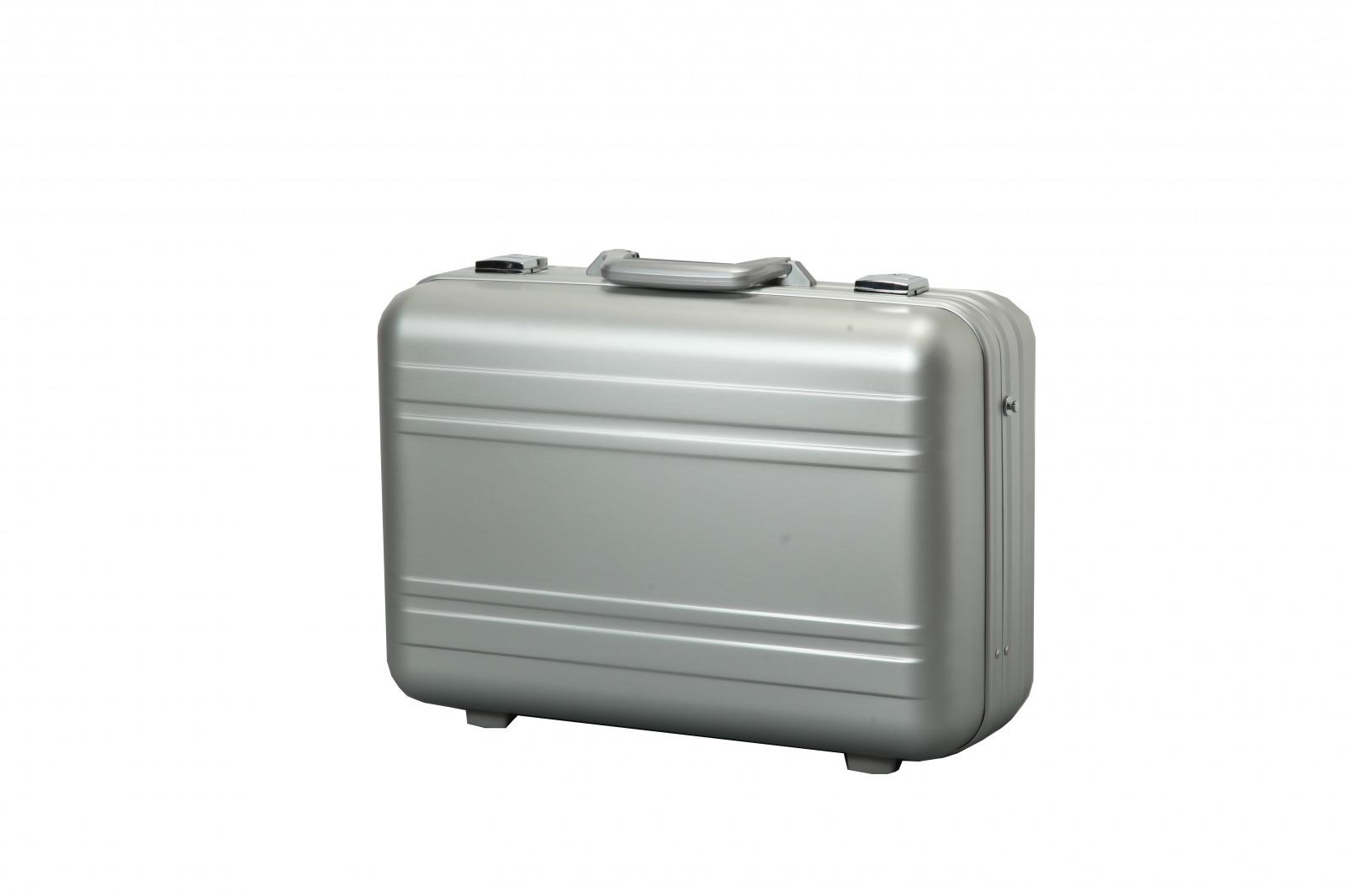 アルミ製アタッシュケース・3桁ダイヤルロック錠 【アルック ビッグシリーズ】 付・アルミビジネスバッグ (TSA)