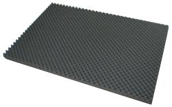 【内装材】波形ウレタン・ブロックタイプ・40mm厚・990mm×660mm。。切れ目の入った波形スポンジ。