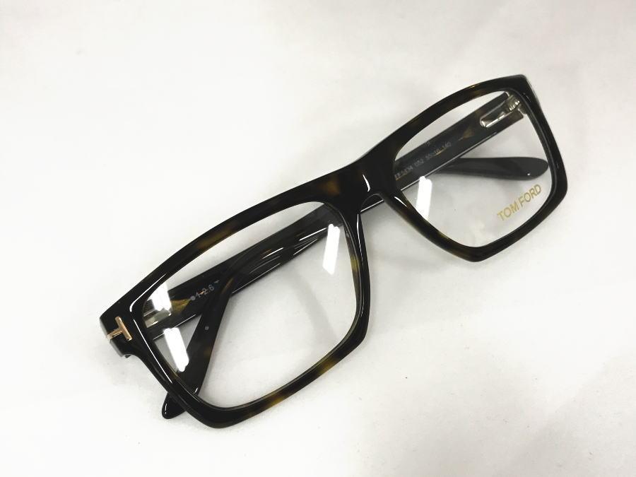 TOM FORD(トムフォード) TF5434 052 正規品 定価47,520円 眼鏡 メガネ フレーム メンズ レディース ギフト  べっ甲色 ブラウン 中田 スクエア