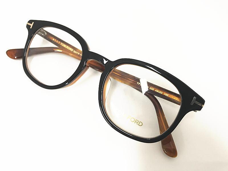 TOM FORD(トムフォード) TF5445-D 005 正規品  眼鏡 メガネ フレーム メンズ レディース ギフト 黒 ブラウン
