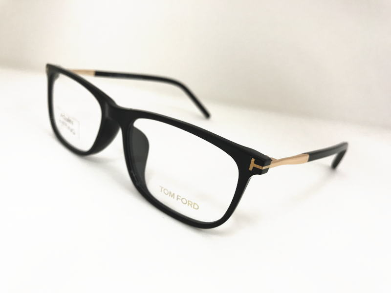 TOM FORD(トムフォード) TF5398-F 001 正規品  眼鏡 メガネ フレーム メンズ レディース ギフト ブラック×ゴールド 黒 スクエア