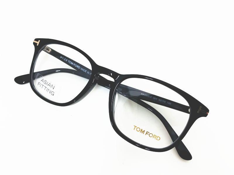 TOM FORD トムフォード TF5505-F 001  正規品  眼鏡 メガネ フレーム メンズ レディース ギフト 黒 ブラック ウェリントン スクエア 安い ダテメガネ