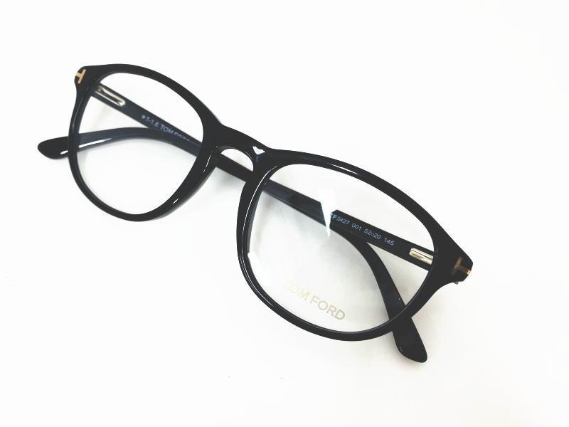 TOM FORD トムフォード TF5427 001  正規品 定価43,200円 眼鏡 メガネ フレーム メンズ レディース ギフト 黒 ブラック ボスリントン ダテメガネ