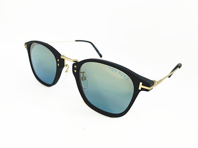 TOM FORD トムフォード 日本限定 TF793-D 02X 正規品 定価¥56,100 眼鏡 サングラス UVカット メガネ フレーム メンズ レディース ギフト マットブラック マットゴールド コンビ ウェリントン スクエア ダテメガネ