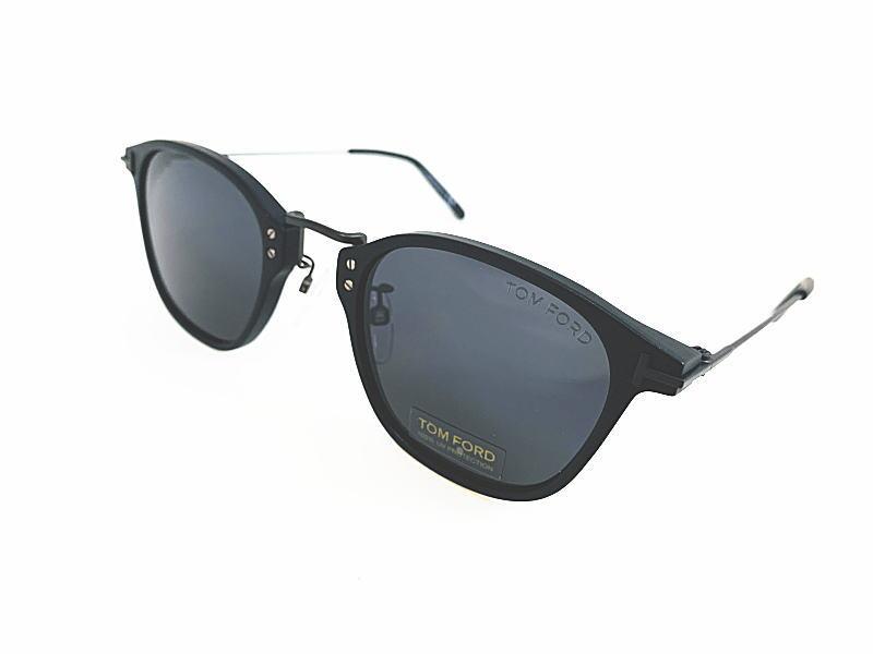 TOM FORD トムフォード 日本限定 TF793-D 02A 正規品 定価¥56,100 レアモデル 眼鏡 サングラス UVカット メガネ フレーム メンズ レディース ギフト マットブラック ブラック コンビ ウェリントン スクエア ダテメガネ