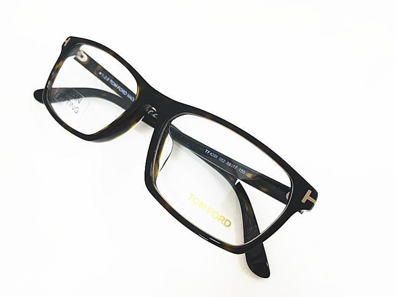 TOM FORD(トムフォード) TF4295 052 正規品 定価44,000円 眼鏡 メガネ フレーム メンズ レディース ギフト マット グラデーション デミブラウン スクエア ウエリントン 伊達メガネ