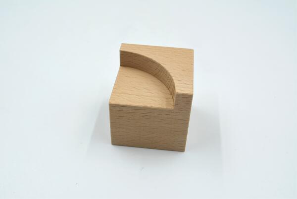 小さな大工さん ビー玉転がしレール 45ミリ基尺 定価 白木 品質保証 厚 工場直販 無塗装の日本製 直角