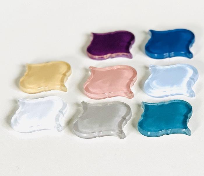 期間限定特別価格 1個から購入できる ガラスタイプ ランテルナ アクセントグラス ランタンタイル モロッカンタイル モロッコタイルDIY 贈呈 インテリア 席札 garasu モロッコタイル 8色から選べます 1個からのバラ売りランテルナ DIY タイル ガラスのモロッカンタイル rantan 01G~8色