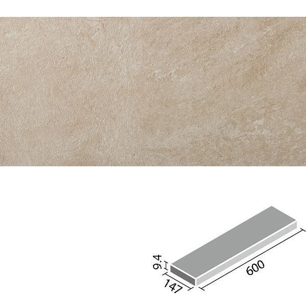 LIXIL INAX タイル フェディーレ 600×150角平 IPF-615/FED-2