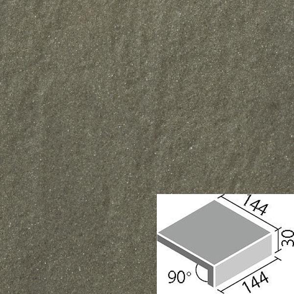 LIXIL INAX タイル アレス 150mm角垂れ付段鼻 ALS-151/4