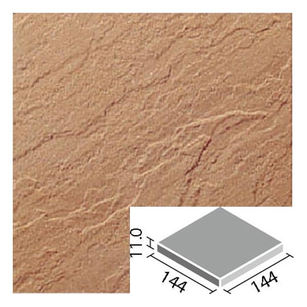 LIXIL INAX タイル 新砂岩タイル 床用 150mm角平 NSA-150M/14N