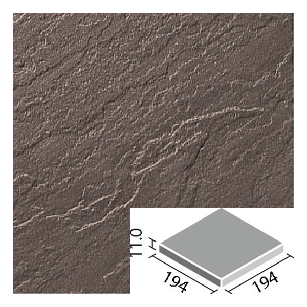 LIXIL INAX タイル 新砂岩タイル 床用 200mm角平 NSA-200M/17N