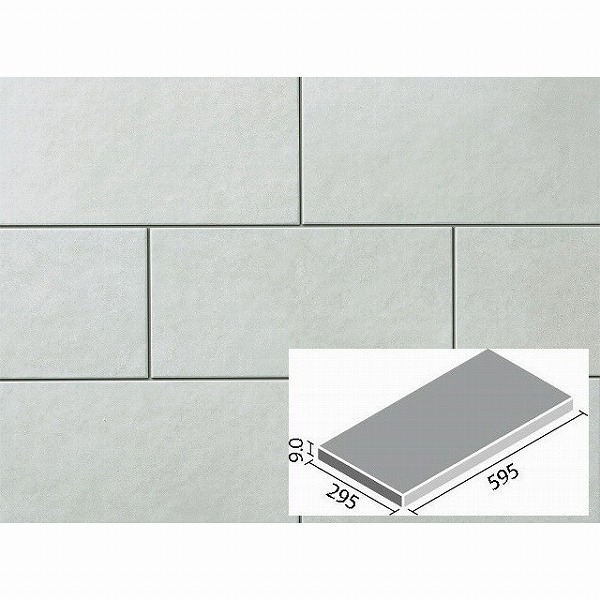 LIXIL INAX タイル スタイルプラス コルディアーレ 600×300mm角平(外床タイプ) IPF-630/COR-11