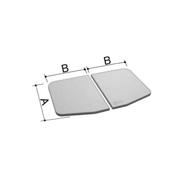 LIXIL INAX 風呂ふた 1100用保温組フタ(2枚) YFK-1175B(1)-D