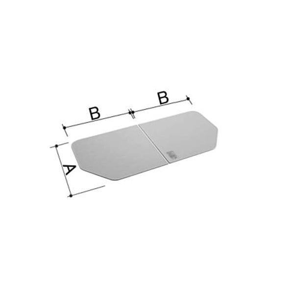 風呂ふた 750×1270mm 1300用保温組ふた(2枚) YFK-1379B-D / LIXIL INAX