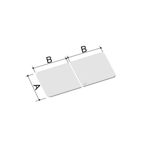 風呂ふた 720×1416mm 1600用保温組ふた(2枚) YFK-1675B(1)-D / LIXIL INAX
